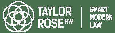 TAYLOR ROSE WHITE LOGO