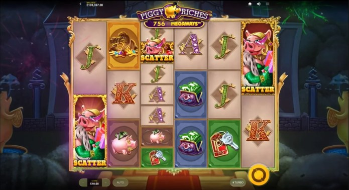 Piggy Riches Megaways by Red Tiger / NetEnt Gameplay