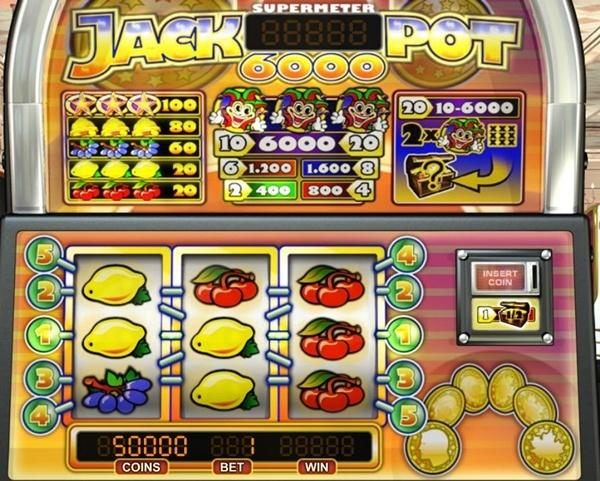 Jackpot 6000 игровые автоматы работа в казино на круизных судах