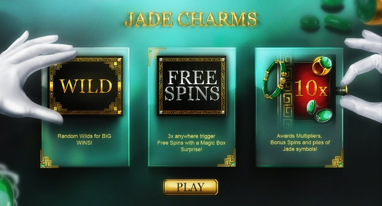 Игровой автомат Jade Charms