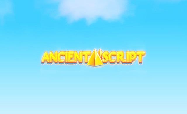 Игровой автомат Ancient Script