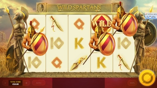 Игровой автомат Wild Spartans