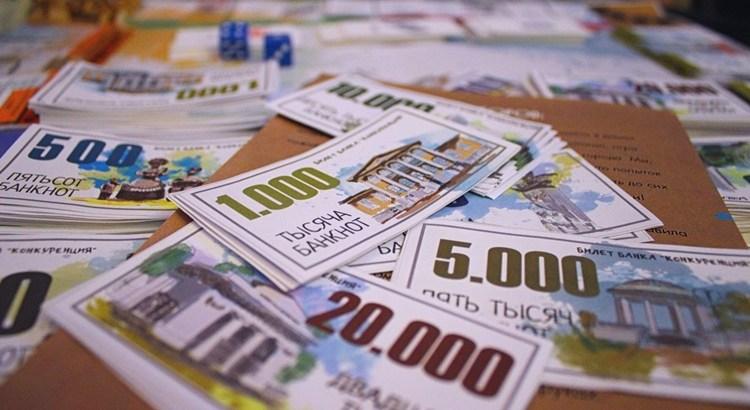 Деньги для настольной игры Менеджер