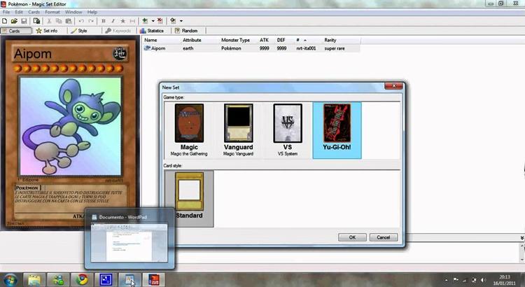 Magic Set Editor на русском