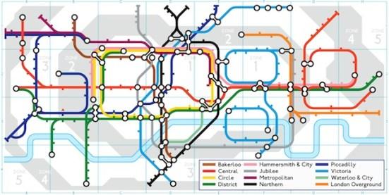 Google doodle London Underground 9/1/13