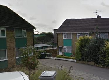 Long, long ago, in a flat far, far away (Image: Google Street View)