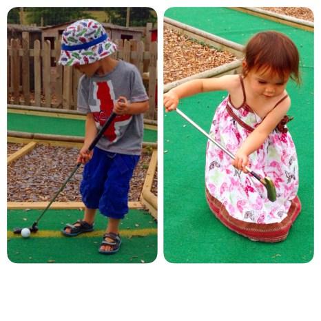 Toby Kara crazy golf