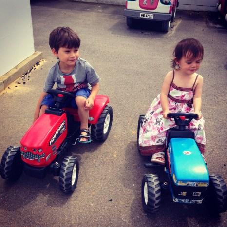 Toby Kara tractors