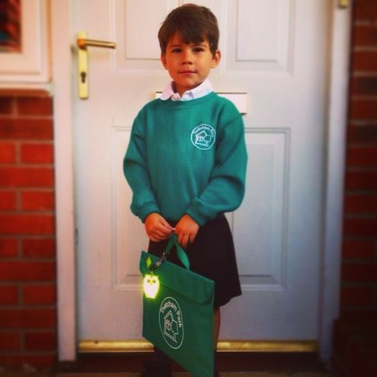 Toby school uniform