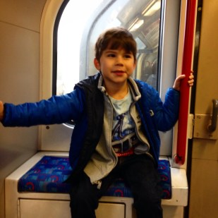 Toby tube train