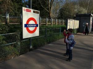 Ickenham Underground station