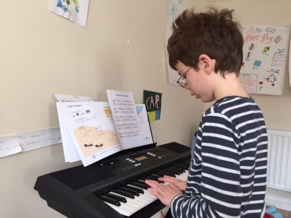 Isaac piano