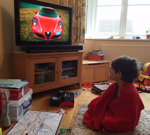 Pyjamas, board games and Top Gear - a perfect Toby morning