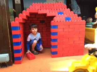Toby Lego house