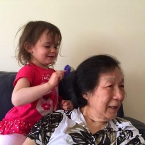 Kara Grandma hairbrush