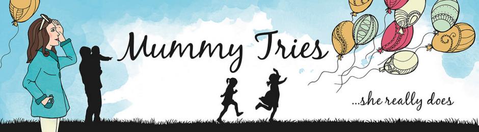 Mummy Tries blog header
