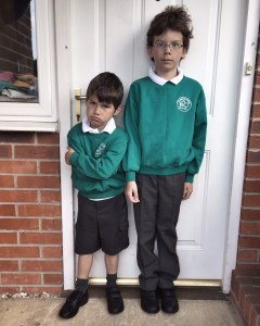 First day back at school