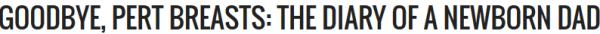 Goodbye Pert Breasts logo