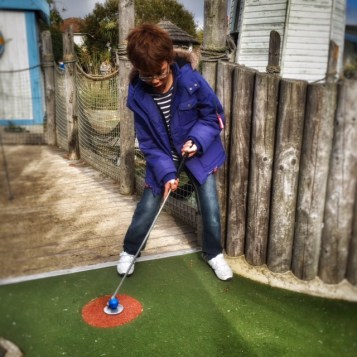 Isaac mini golf