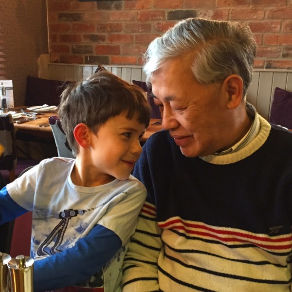 Toby and Grandpa