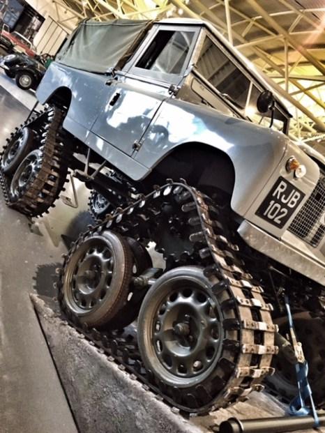 British Motor Museum Land Rover