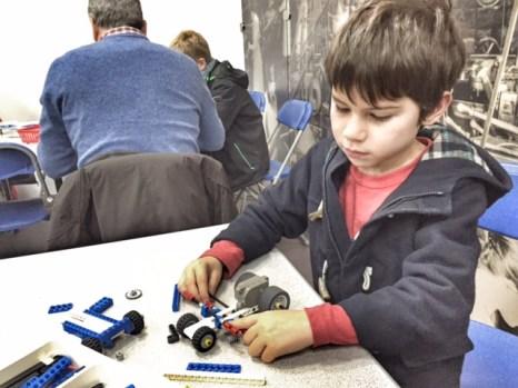 British Motor Museum Lego racers 2
