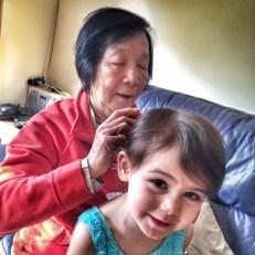 Kara Grandma hair