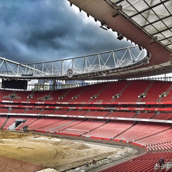 Clock End Emirates Stadium