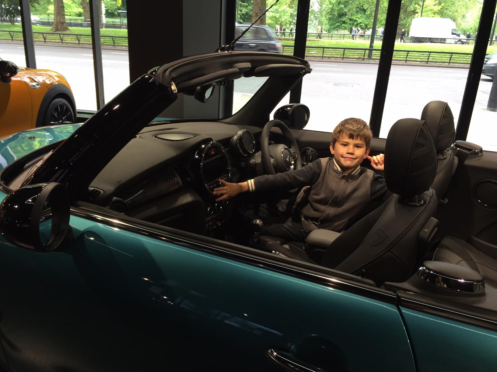 Toby Mini convertible