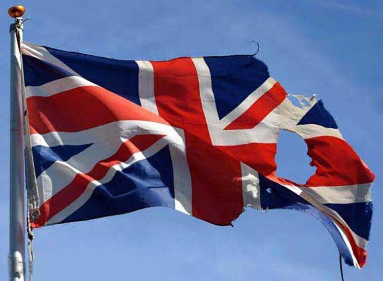 Torn Union Jack