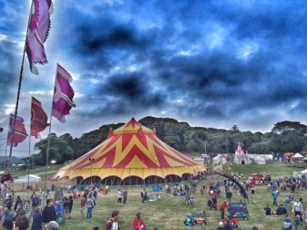 Camp Bestival big top