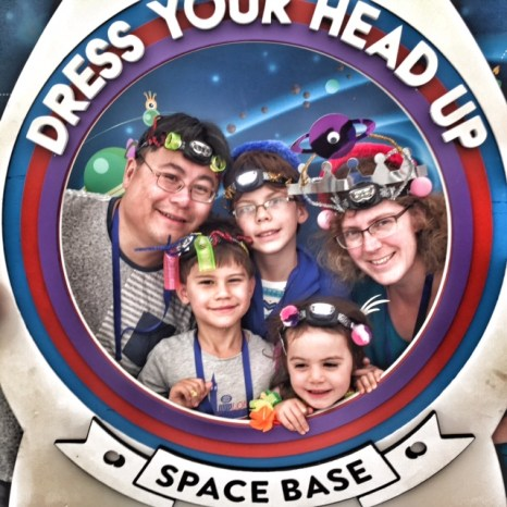 Camp Bestival Energizer Liew family dress your head up