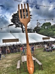 Camp Bestival Feast Collective fork