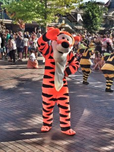 Disneyland Paris parade Tigger