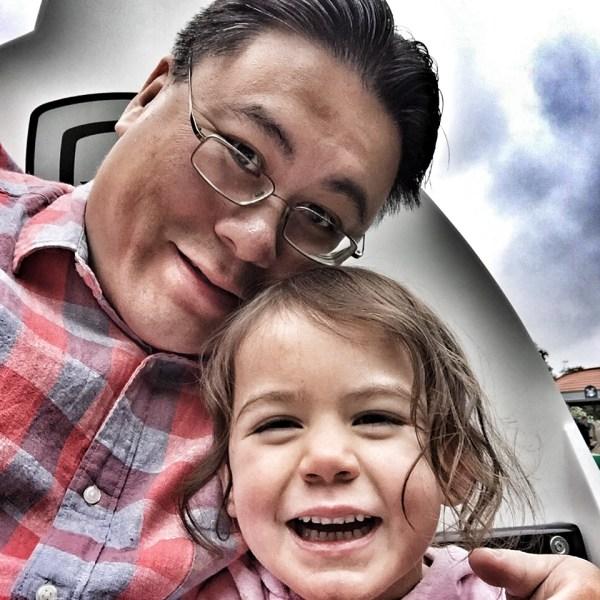 Kara and Daddy