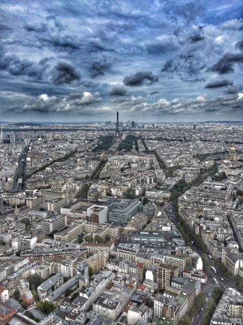 View of Paris from Montparnasse