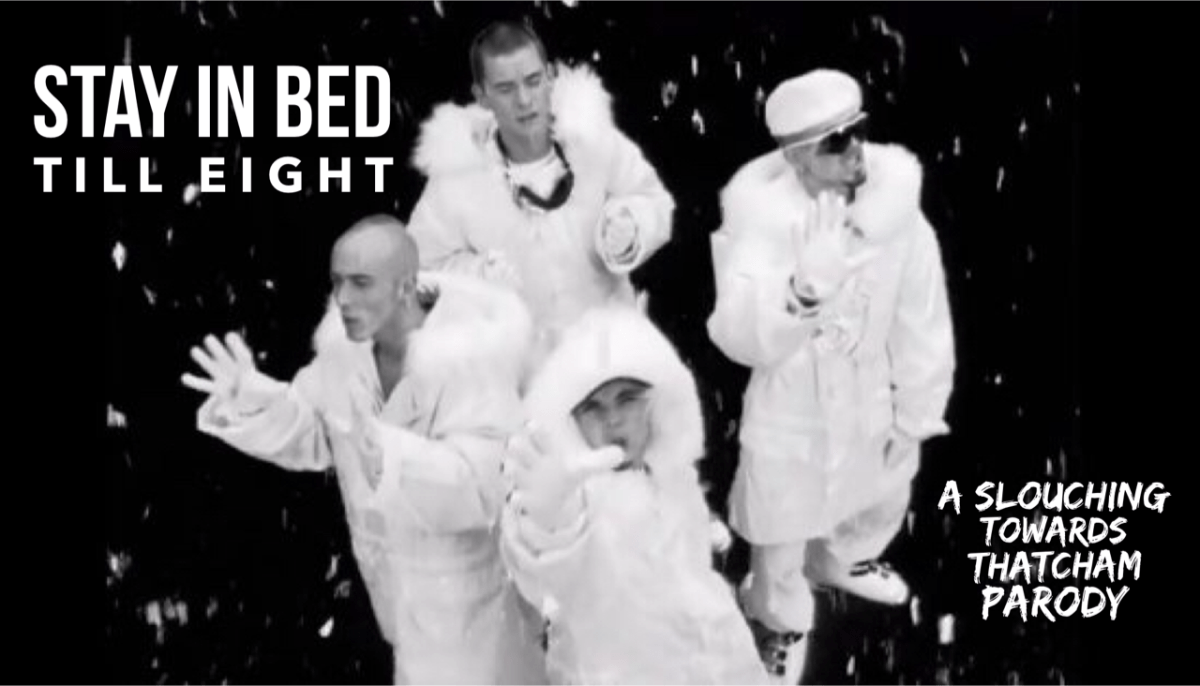 What if East 17 had written Stay Another Day about Christmas Day with kids?