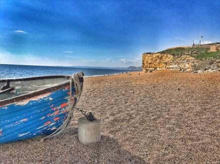 Burton Bradstock Hive beach