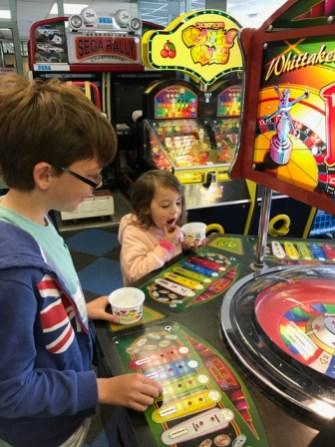 Weymouth Isaac and Kara amusement arcade