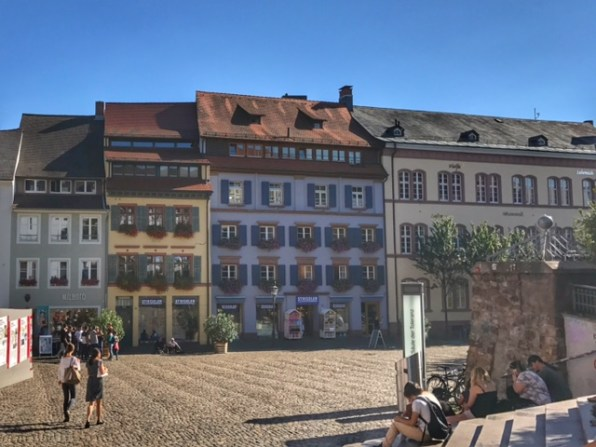 Summer holiday 2017 Freiburg buildings