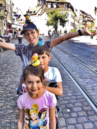Summer holiday 2017 Freiburg the duck squad