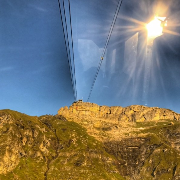 Summer holiday 2017 Piz Gloria from cable car