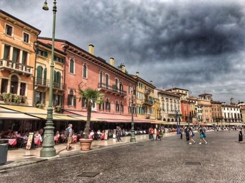 Summer holiday 2017 Verona Piazza Bra 3