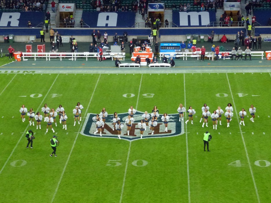 Twickenham NFL Los Angeles Rams vs Arizona Cardinals 22/10/17