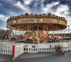 Butlins Bognor Regis 2017 merry-go-round