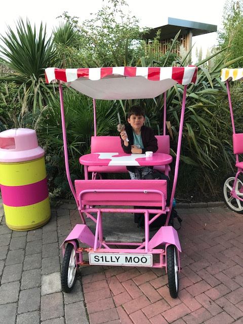 Butlins Bognor Regis 2017 Toby ice cream