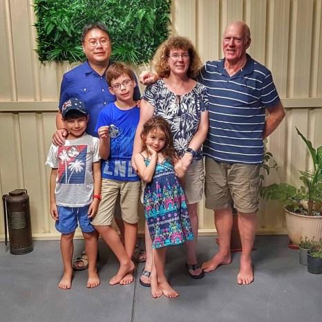 Australia 2018 family photo