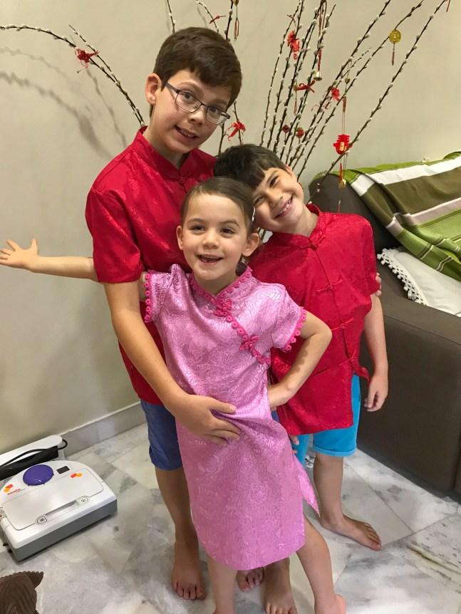 Malaysia 2018 Kids dressed up