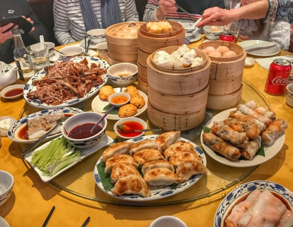 Easter 2018 Chinatown dim sum lunch