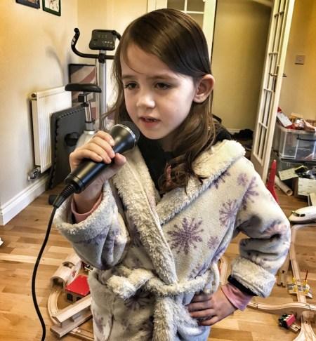 Kara singing